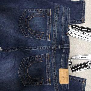 Size XL True Religion overalls NWOT